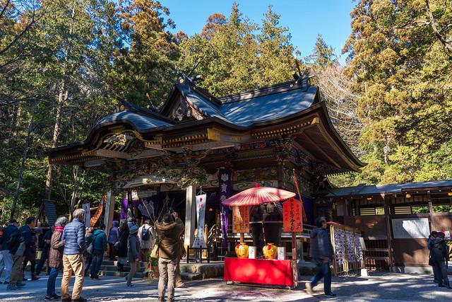 宝登山神社参拝