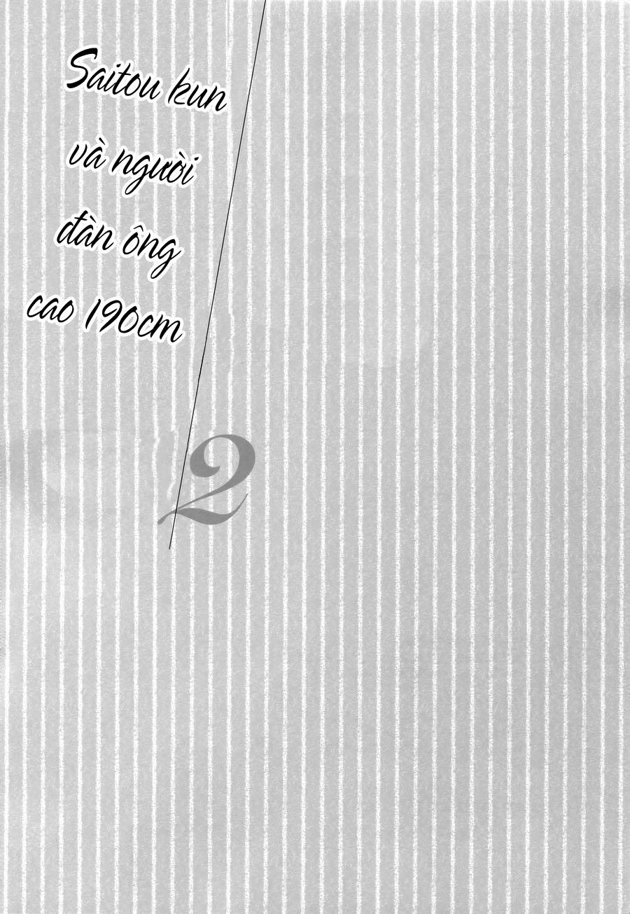 Saitou Kun Và Người Đàn Ông Cao 190cm Chap 1 page 24 - Truyentranhaz.net