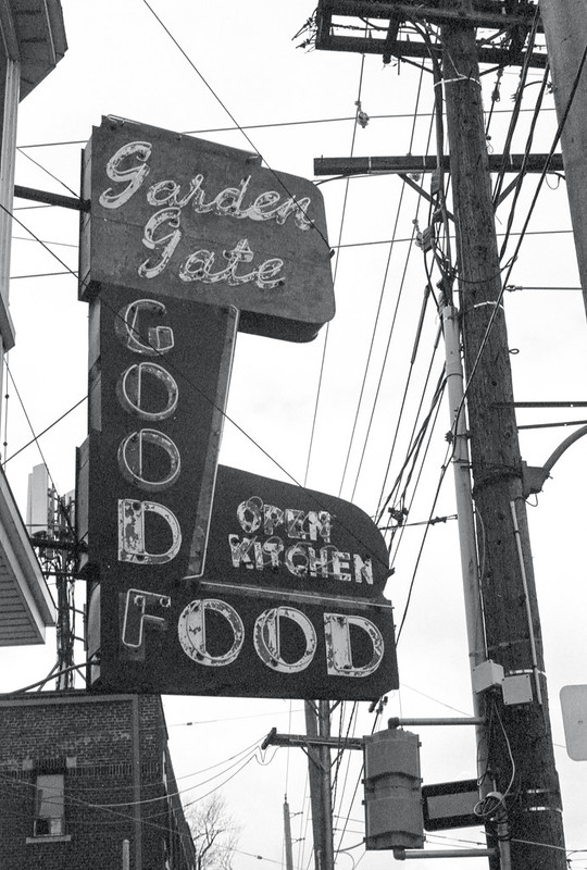 Black and White Goof Sign in March