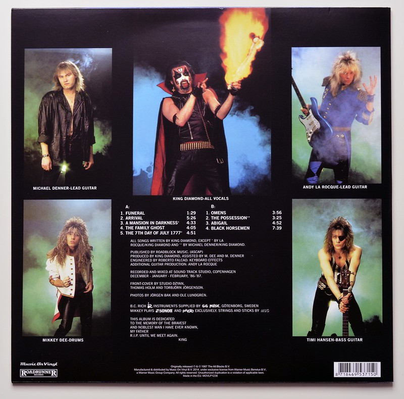 A0451 KING DIAMOND Abigail (Music on Vinyl)