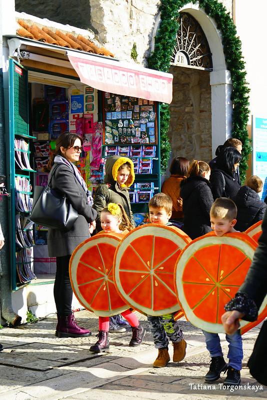 Выступление детей на открытии фестиваля