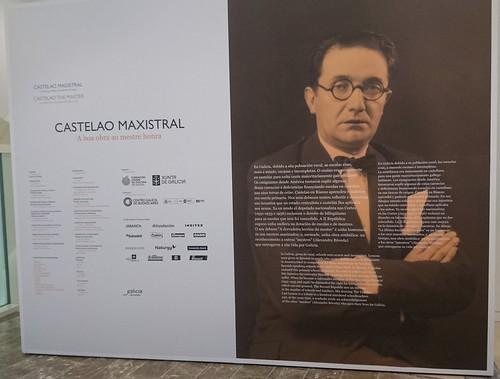 Entrada exposición Castelao maxistral