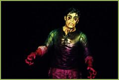 Flu Walker From The Walking Dead.