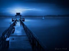 Pier_Pelican Bay - blue light