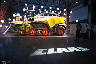 Czech premiere of the CLAAS JAGUAR 960 TERRA TRAC | by martin_king.photo