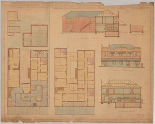 M5710 Plans of New Cardigan Hotel Cook's Hill [Newcastle] c.1924-1925 | by UON Library,University of Newcastle, Australia