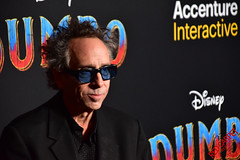 Tim Burton at Disneys Premiere of Dumbo in Hollywood - DSC_0121