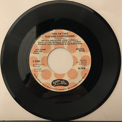IAN & THE BLOCKHEADS:HIT ME WITH YOUR RHYTHM STICK(RECORD SIDE-B)