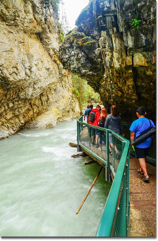 Johnston Canyon Trail (7)