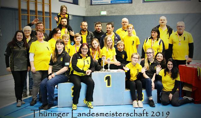Thüringer Landesmeisterschaft Halle 2019