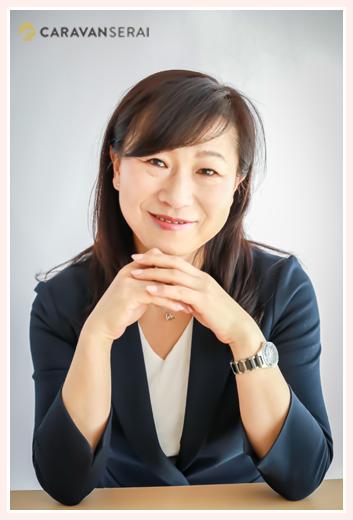 NPO法人しみんシップnet(愛知県尾張旭市)代表 舩坂 礼子さま ビジネス用プロフィール写真