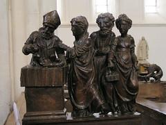 20080519 25935 Jakobus Montreal Kirche Darbringung Jesu Maria Holzschnitzerei - Photo of Marmeaux