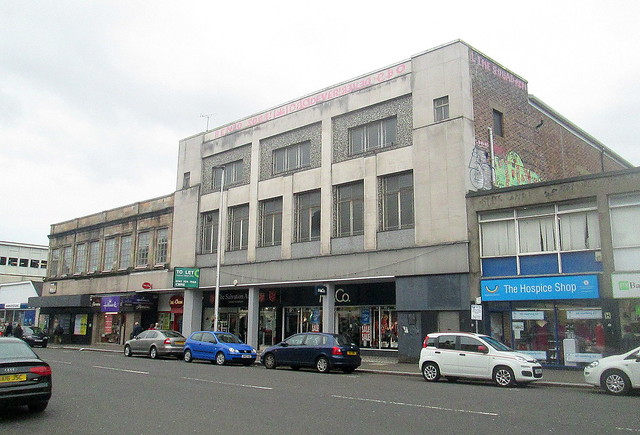 Art Deco Buildings, Kilmarnock Road, Glasgow