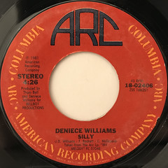 DENIECE WILLIAMS:SILLY(LABEL SIDE-A)