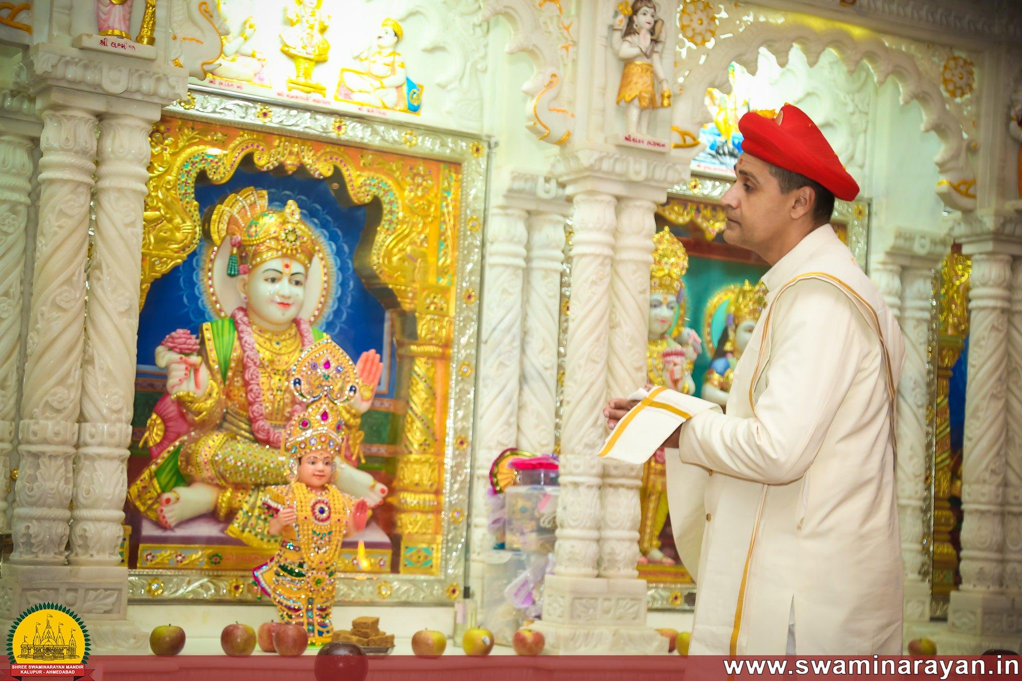 Maharajshree Visit - EASST Mandir