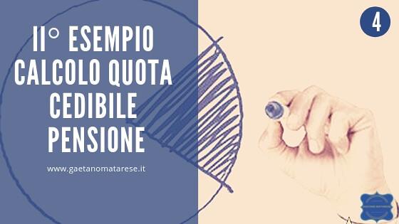 33121518828_4f1c83f24b_z Calcolo quota cedibile pensione