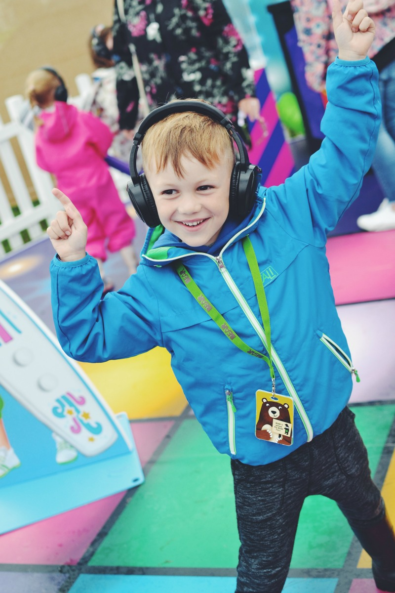 Silent disco kids activities