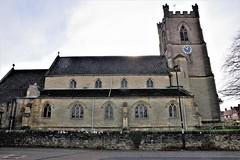 St Jame's Church, Boroughbridge, Yorkshire, UK