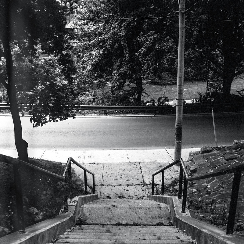 Stairs Down the Road