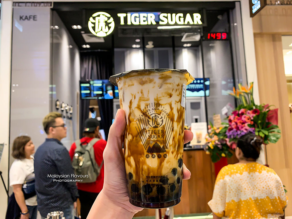 Tiger Sugar Pavilion KL: VS The Alley, Brown Sugar Boba Milk