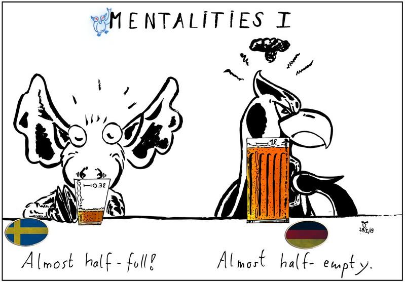 German-Swedish Mentalities I: The glass