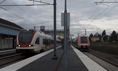 02.02.19 Delle SBB 522209 and SNCF Z27731/32 - Photo of Brognard