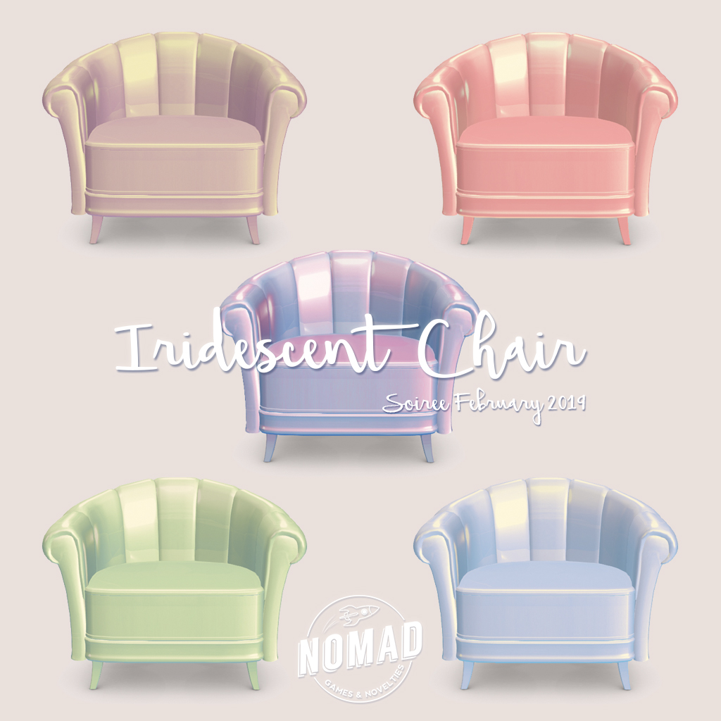 NOMAD // Iridescent Chair