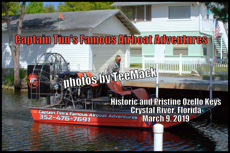 Captain Tim's Famous Airboat Adventures