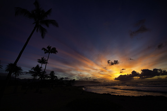 A Glorious Twilight In Hawaii