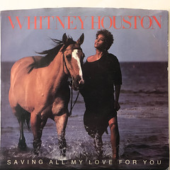 WHITNEY HOUSTON:SAVING MY ALL LOVE FOR YOU(JACKET A)
