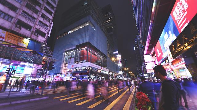Chungking Mansion crossing, Tsim Sha Tsui, Kowloon, Hong Kong