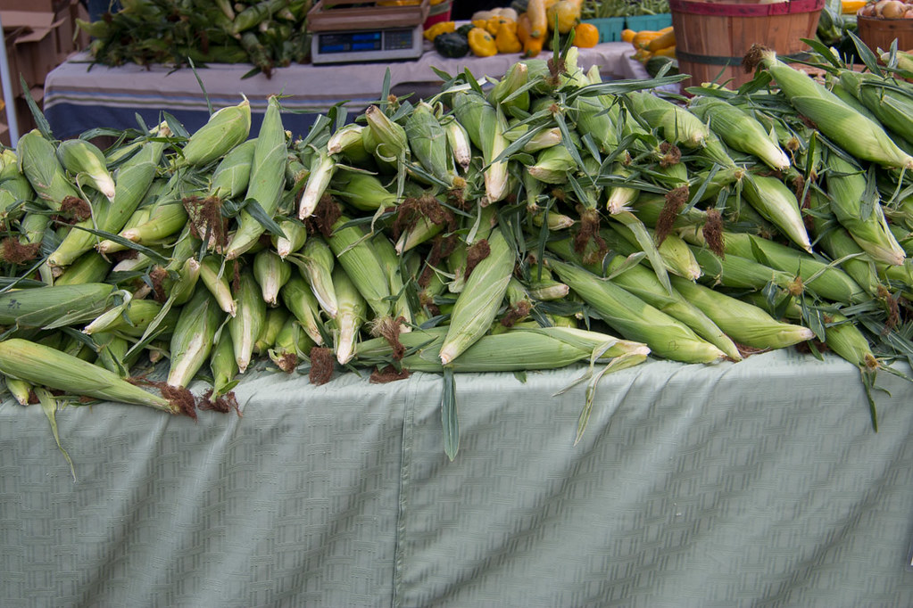 Corn at the Des Moines Farmers Market