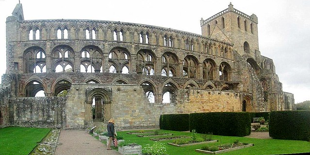 Jedburgh Abbey South Aspect