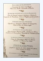 a musical menu for Salzburg - Photo of Mézériat