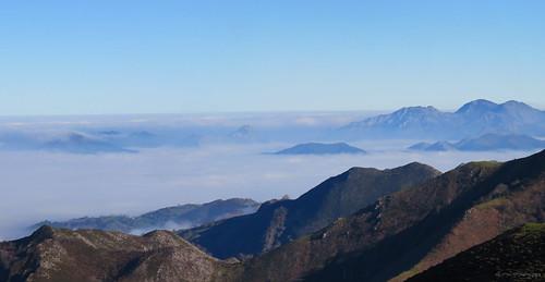 Niebla sobre el Valle del Piloña