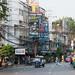 A  view down Chakrabongse Road at Bangkok