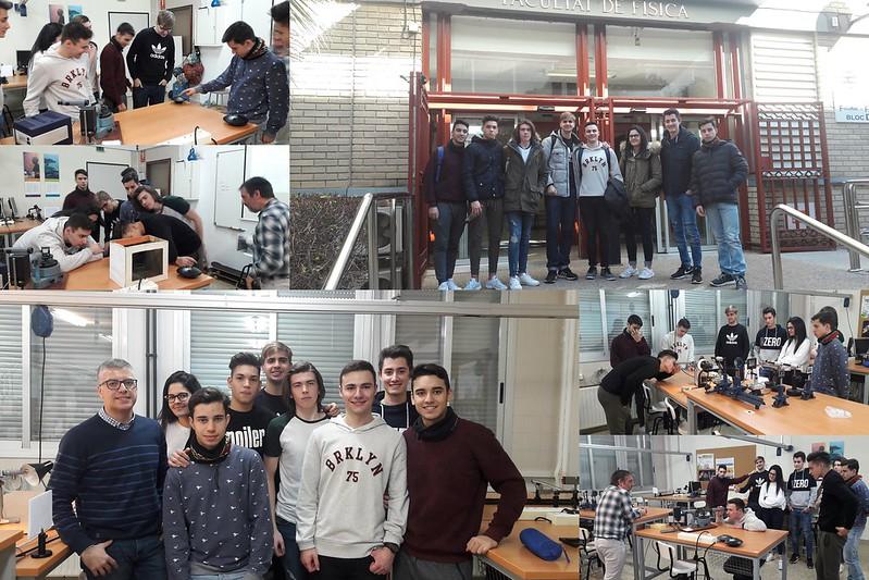 Visita laboratorio de Física