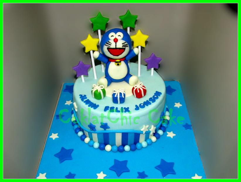 Cake Doraemon ALWIN 18 cm