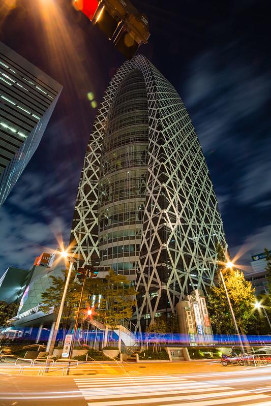 モード学園コクーンタワーの夜景