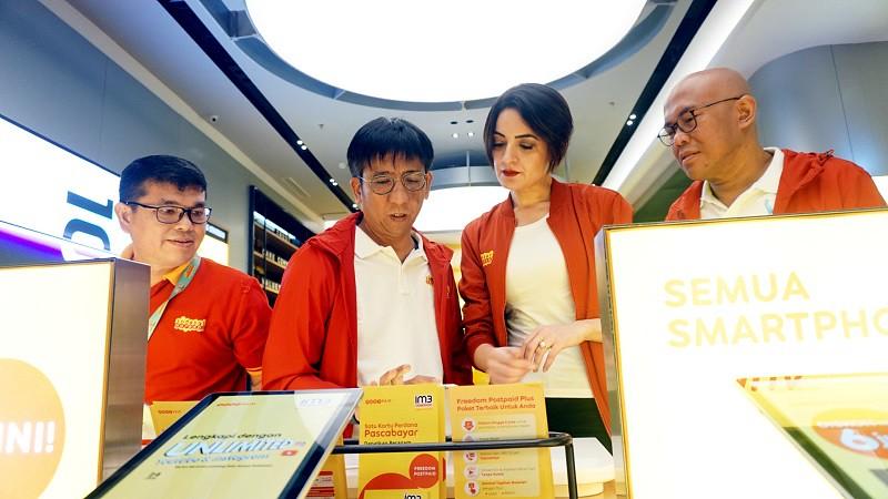 Indosat Ooredoo Resmikan Gerai dengan Konsep Digital Pertama di Indonesia