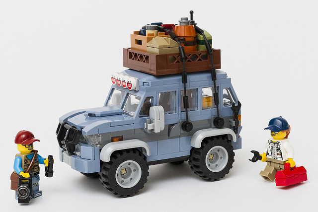 Nothing says adventure like this rig | The Brothers Brick