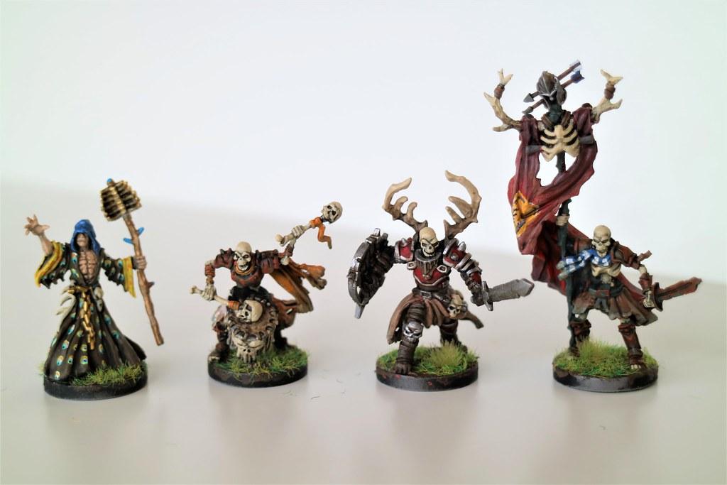 Runewars Miniatures Waiqar Command 2
