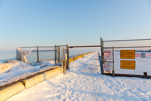 Frozen Pier Entrance | by VBuckley.com