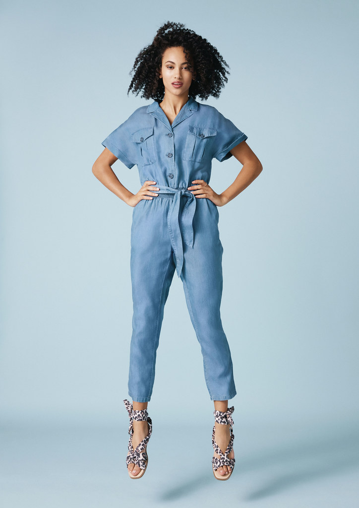Denim Jumpsuit, Oasis Finland