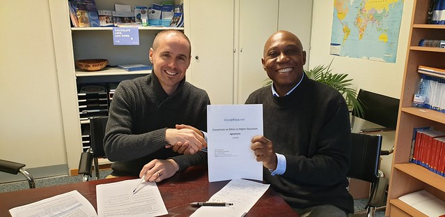 Agreement with Lutheran World Federation, February 2019