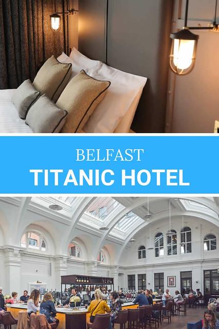 Titanic Hotel Belfast: een review over het Titanic Hotel Belfast | Mooistestedentrips.nl