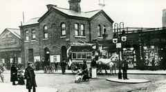c1900 - Old Balham Station.