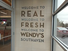 Welcome inside the new Southaven Wendy's