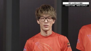 Mago's Face when Tokido talks about beating him