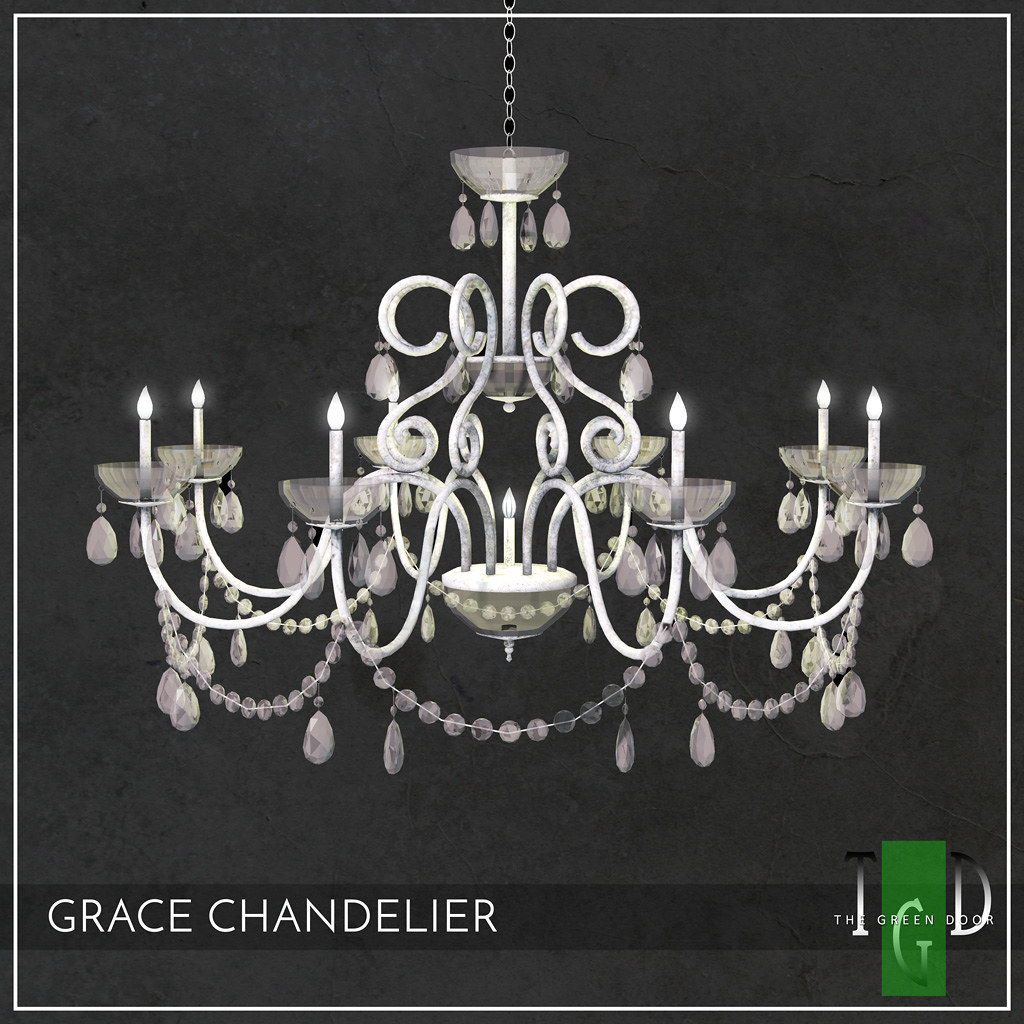 """Grace Chandelier"" by The Green Door –  MadPea Premium Alliance Hunt: The Golden Pea Awards!"